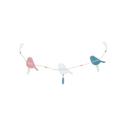 Bird Garland with pegs